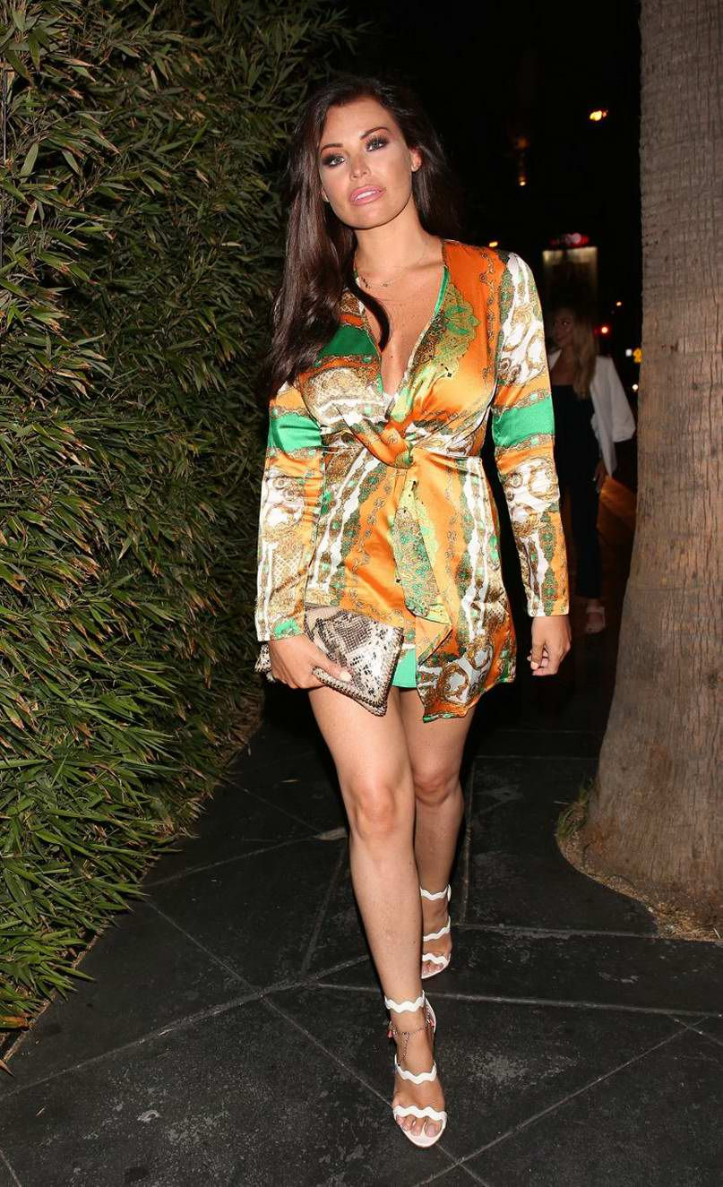 Jessica Wright has a girls night out in Los Angeles
