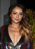 Kat Graham at Harpers Bazaar September issue dinner in Los Angeles