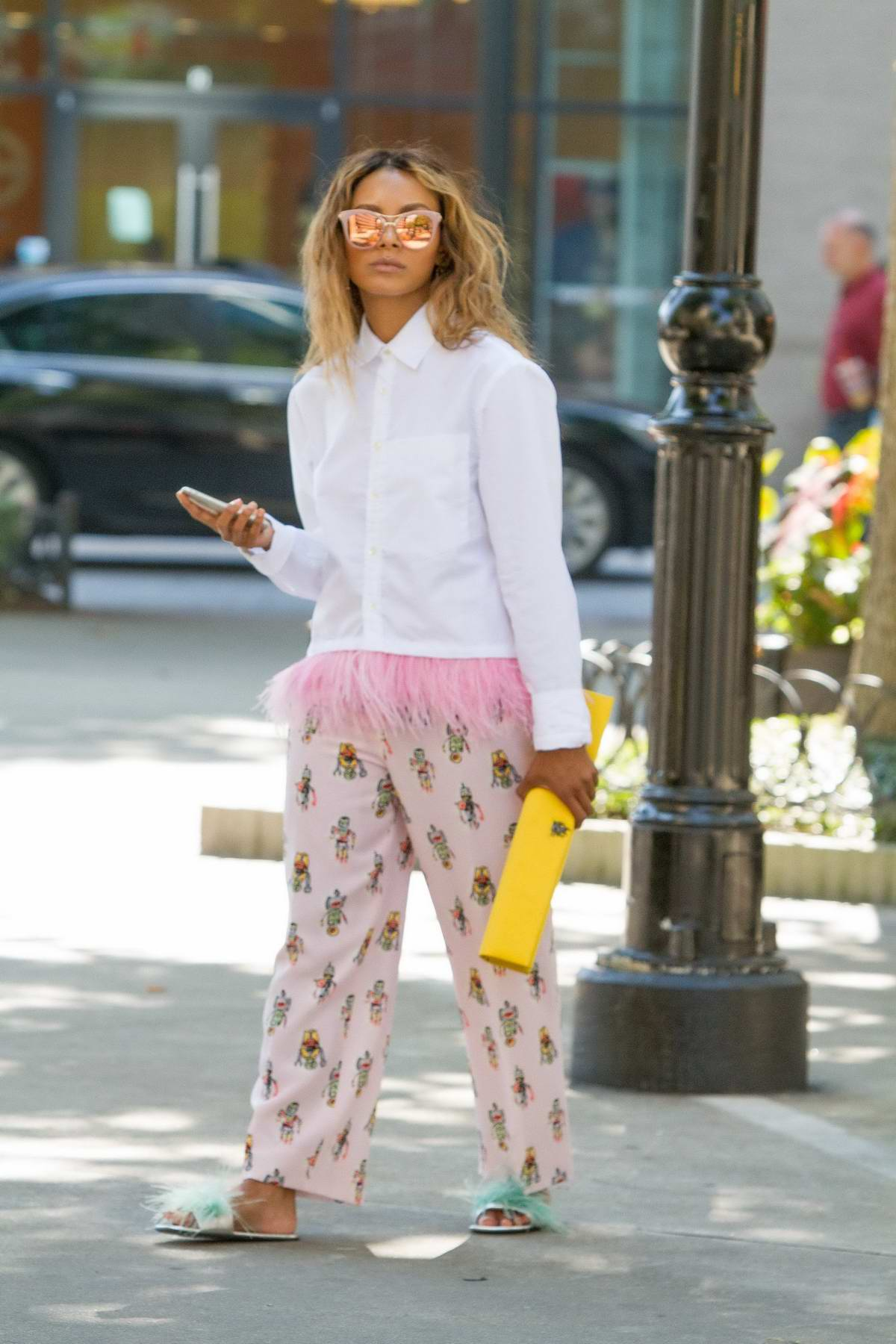 Kat Graham spotted leaving lunch in Beverly Hills, Los Angeles