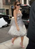 Kate Beckinsale arriving back to her Hotel in New York