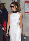 Kate Beckinsale spotted on her way to Live With Kelly and Ryan in New York