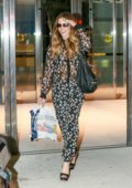 Kate Beckinsale touches down at JFK Airport in New York