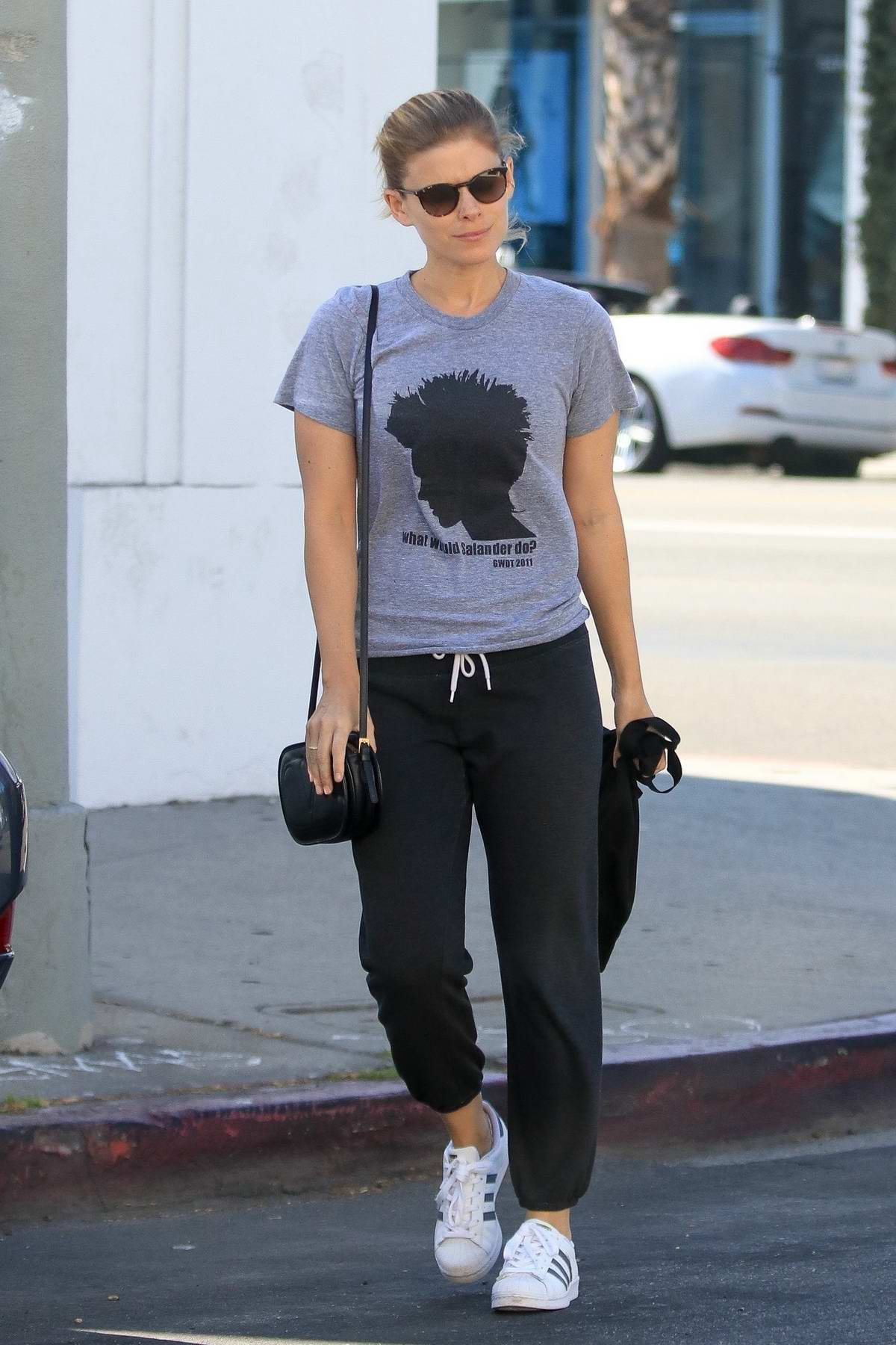Kate Mara spotted leaving Ballet Bodies in Los Angeles