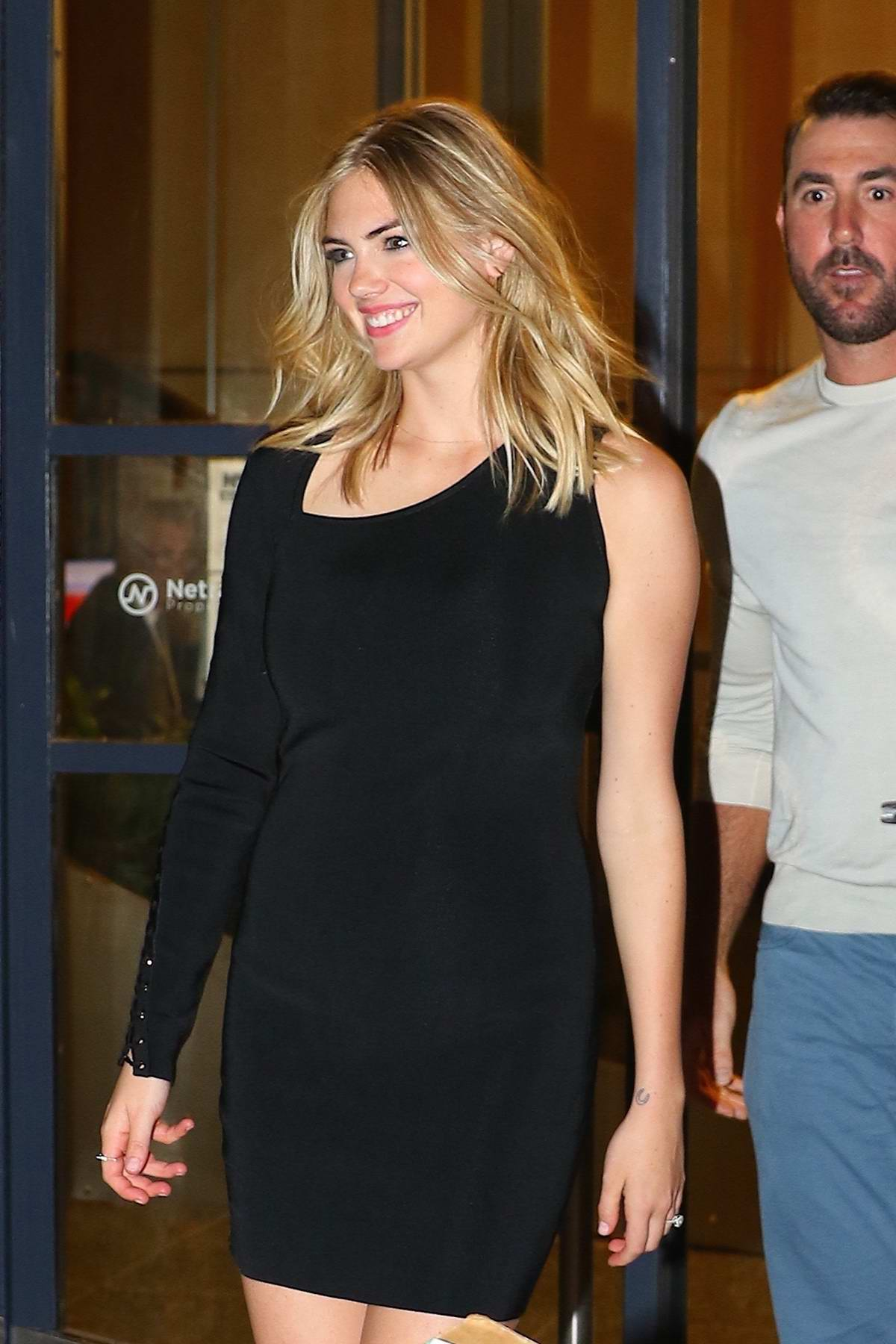 Kate Upton and Justin Verlander heads out to dinner at Catch after appearing on 'Watch What Happens Live' in New York