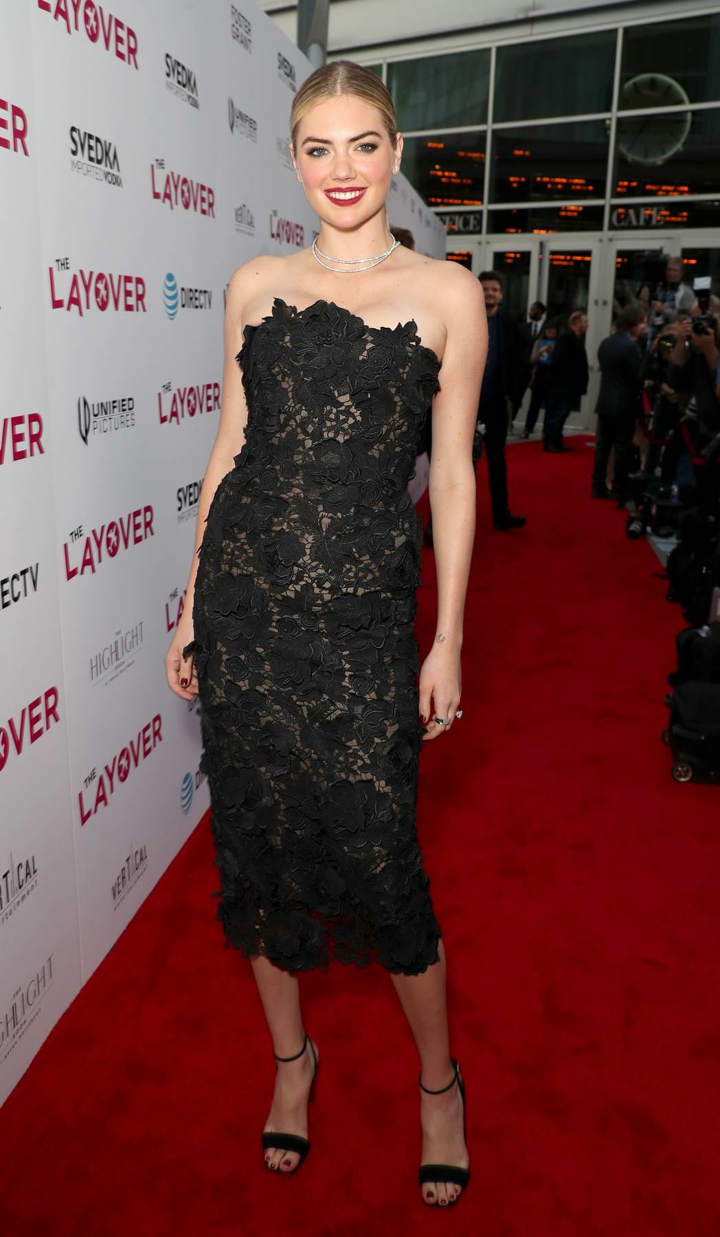 Kate Upton at The Layover film premiere in Los Angeles