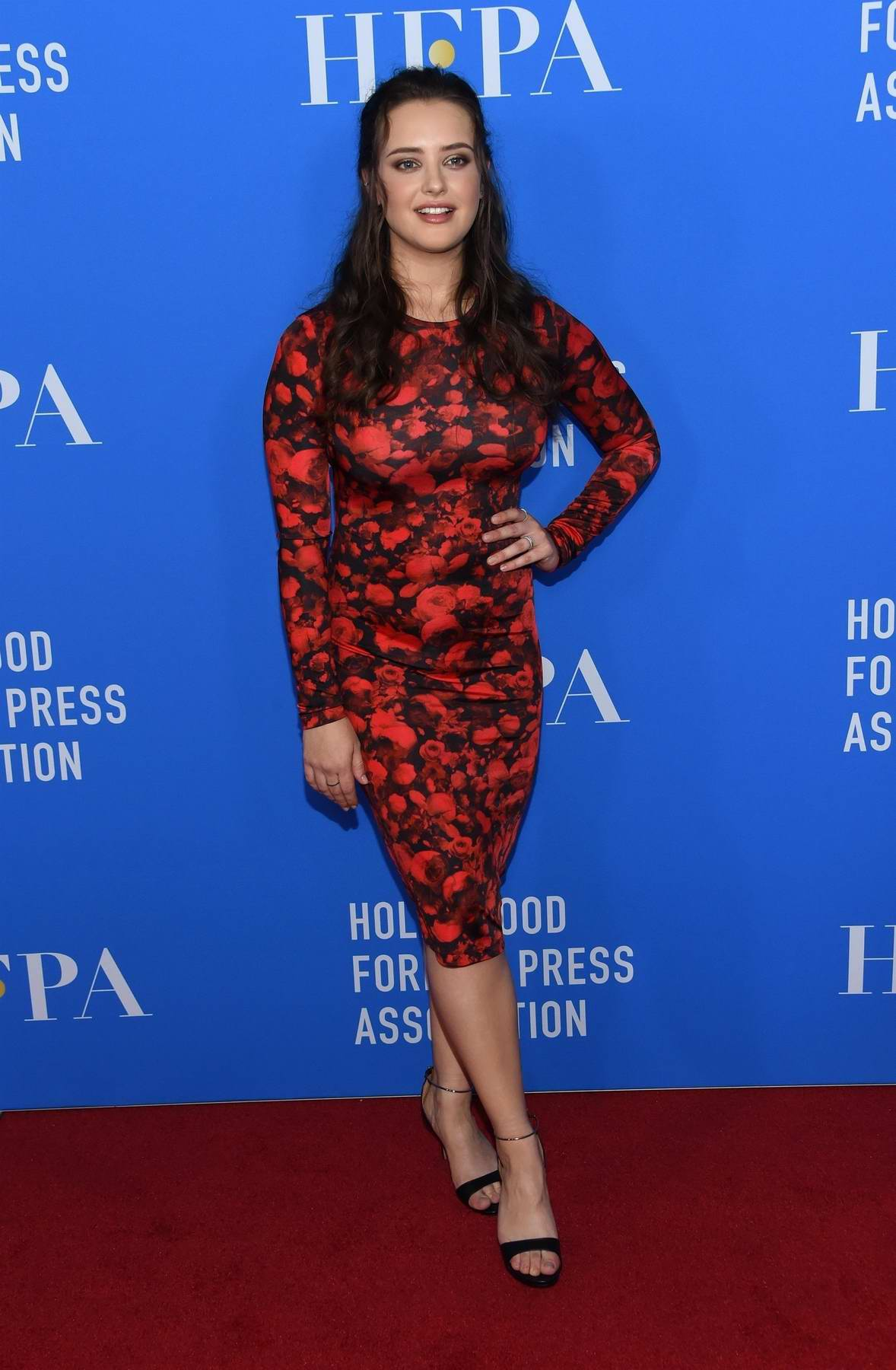 Katherine Langford attends HFPA Grants Banquet in Los Angeles