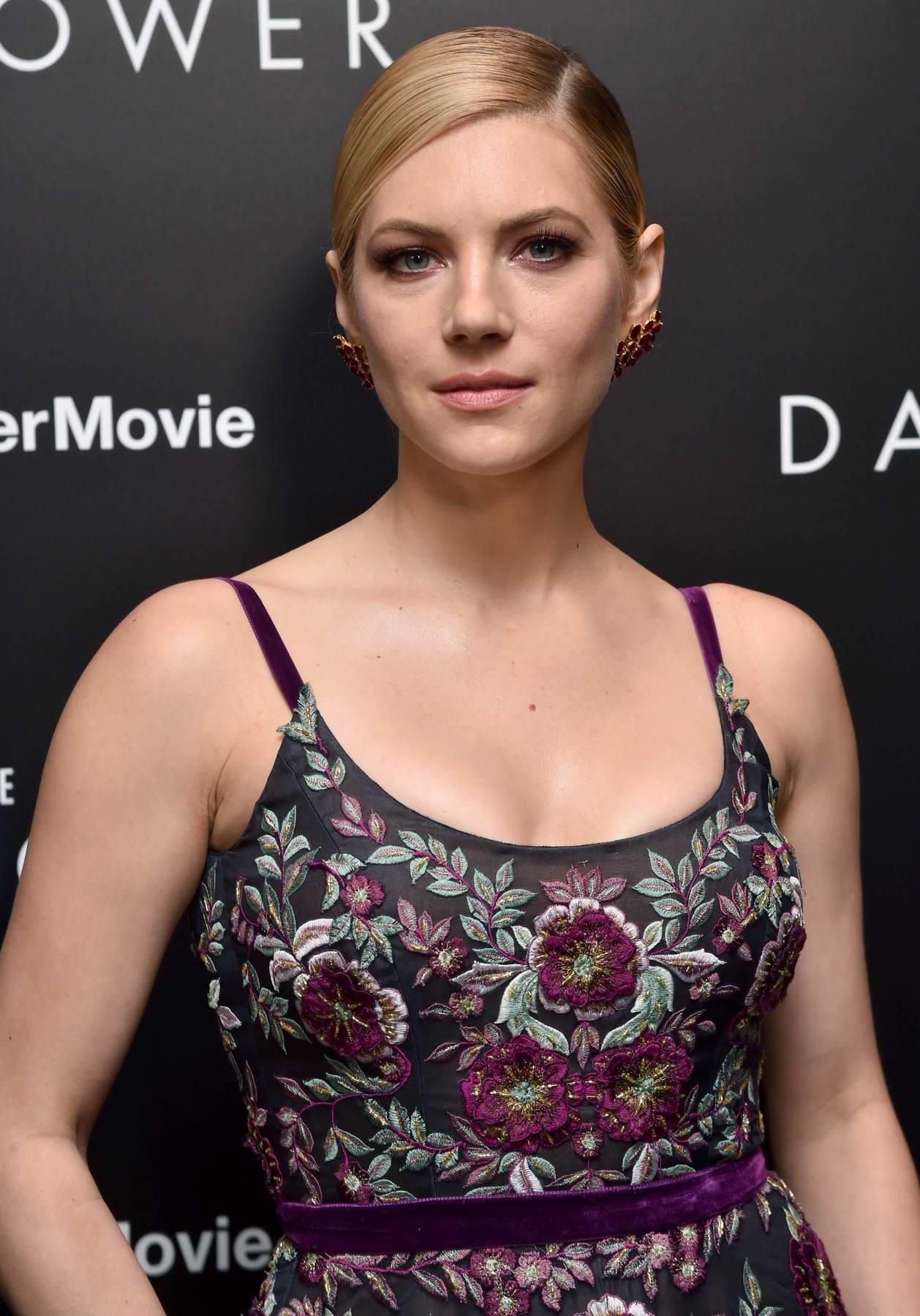 Katheryn Winnick attends The Dark Tower premiere in New York