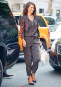 Katie Holmes leaving her Hotel in New York City