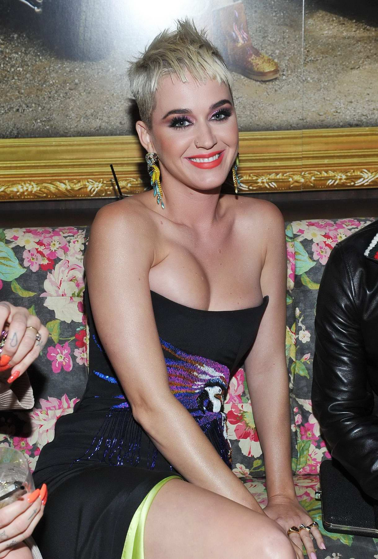 Katy Perry at the UGG X Jeremy Scott collaboration launch event in West Hollywood, Los Angeles