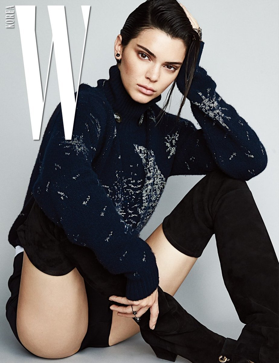 Kendall Jenner in W Magazine, Korea - September 2017