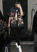 Kendall Jenner slips out of Matsuhisa after dinner in Beverly Hills, Los Angeles
