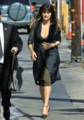 Lake Bell arrives at the Jimmy Kimmel Live in Hollywood, Los Angeles