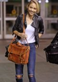 Laura Vandervoort arrives in Vancouver to reprise her role as Indigo for Supergirl