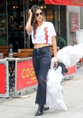 Lily Aldridge leaving the Victoria's Secret fitting in New York City