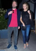 Lindsay Shookus and Ben Affleck enjoys a dinner date Mas Farmhouse in New York