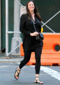 Liv Tyler is all smiles as she walks down the street in Manhattan, West Village neighborhood in New York