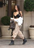 Madison Beer outside The Montage in Beverly Hills, Los Angeles