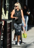 Malin Akerman out and about in Los Feliz, California