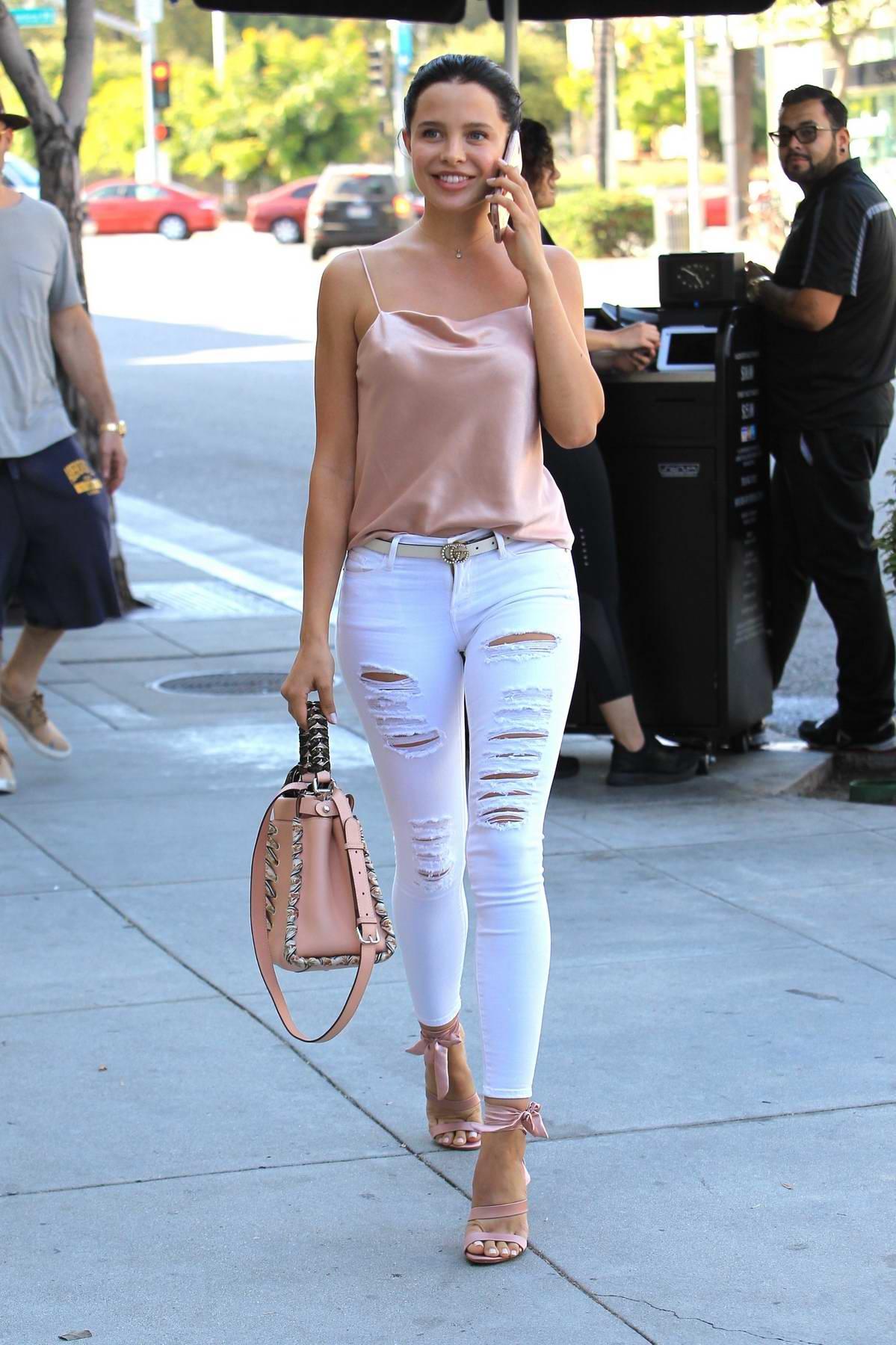 Mara Teigen enjoys a day out Shopping in Beverly Hills