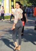 Mara Teigen was seen grabbing Ice cream with her brother at The Grove in Hollywood, Los Angeles