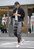 Maria Sharapova is spotted in New York after news that she will play in her first US Open since her Doping ban