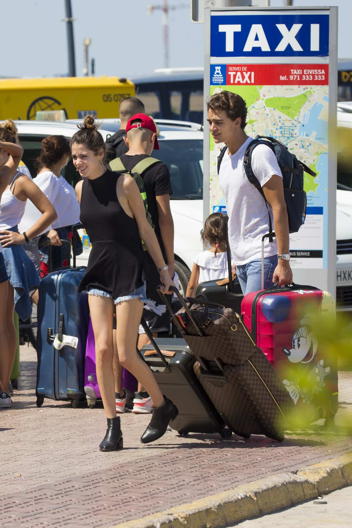 Martina Stoessel and boyfriend Pepe Barroso enjoy their Summer stay in Ibiza, Spain