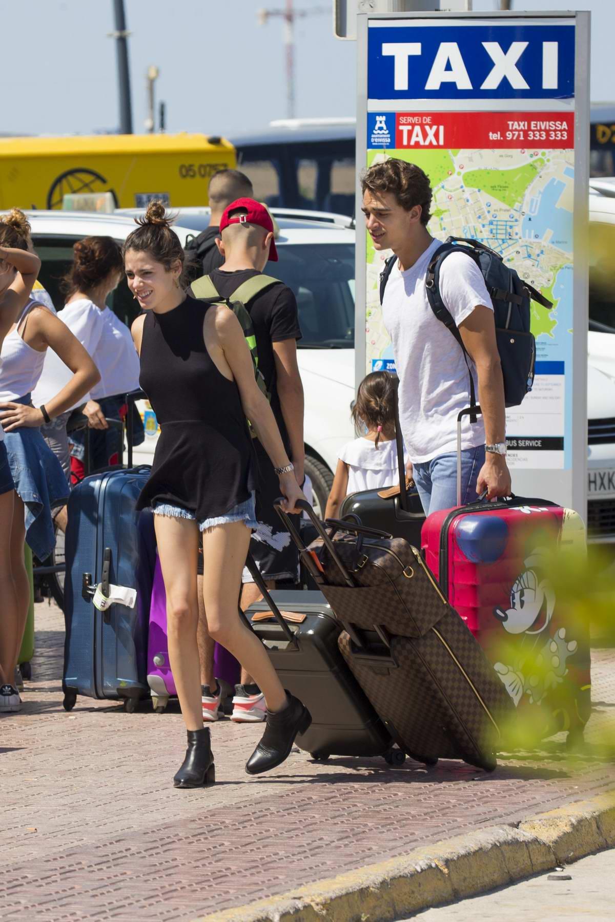 Martina Stoessel and boyfriend Pepe Barroso enjoy their Summer stay in Ibiza, Spain