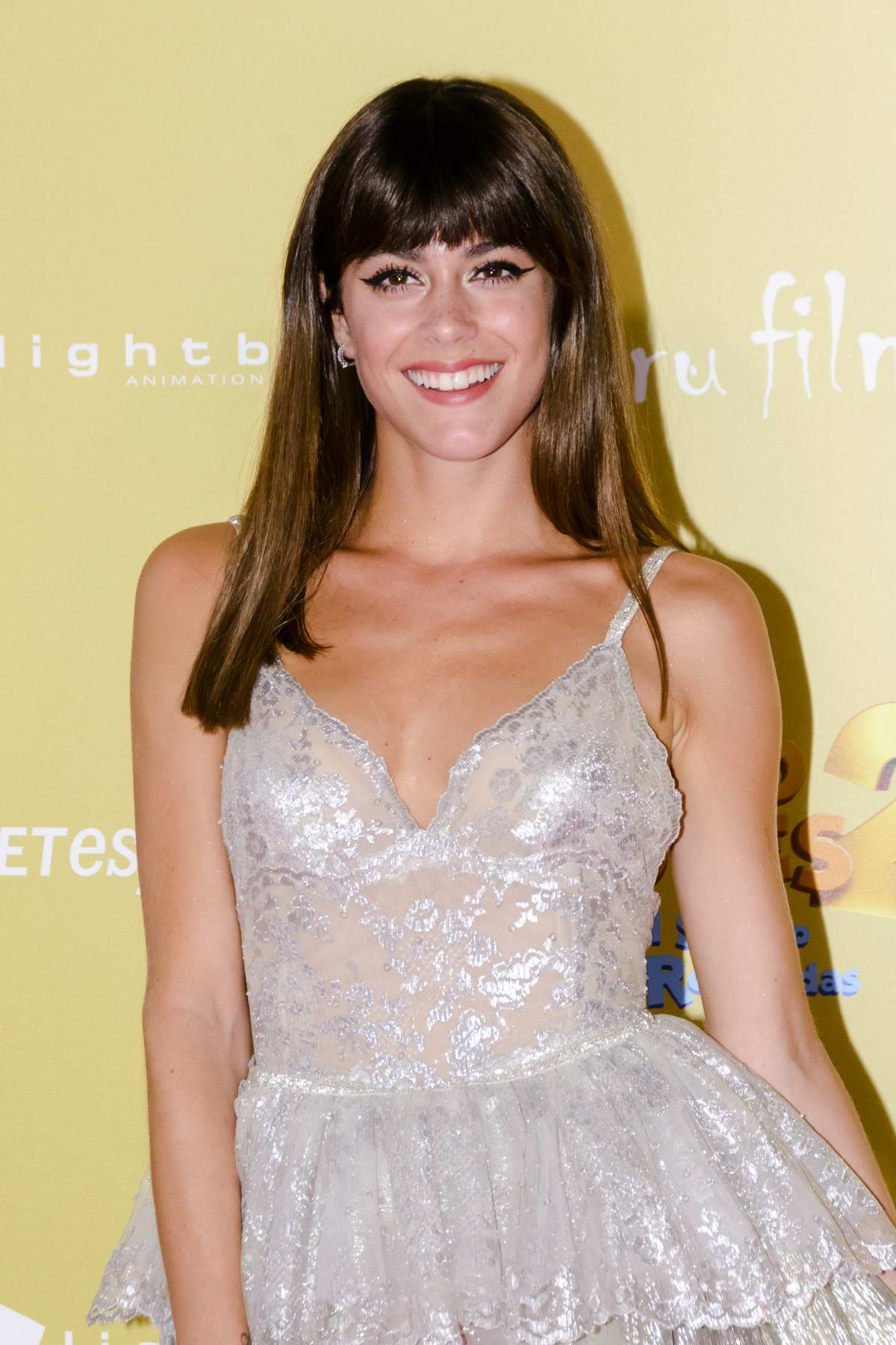 Martina Stoessel attends the Tadeo Jones 2 premiere in Madrid, Spain