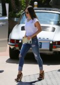 Megan Fox out for lunch with husband Brian Austin Green at Geoffrey's in Malibu