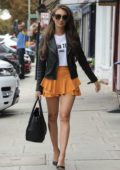 """Megan McKenna heads to a press day for her new show """"There's Something About Megan"""" in Essex, UK"""