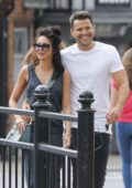 Michelle Keegan out and about in Essex, UK