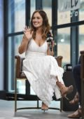 Minka Kelly visit AOL Build in New York City