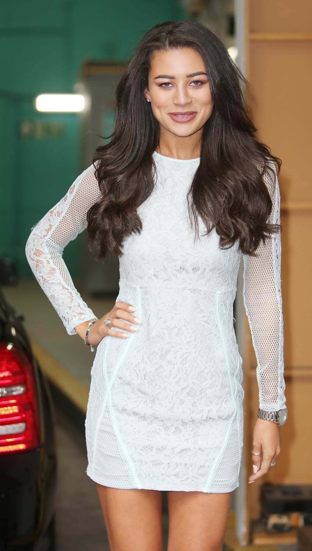 Montana Brown spotted at the ITV Studios in London