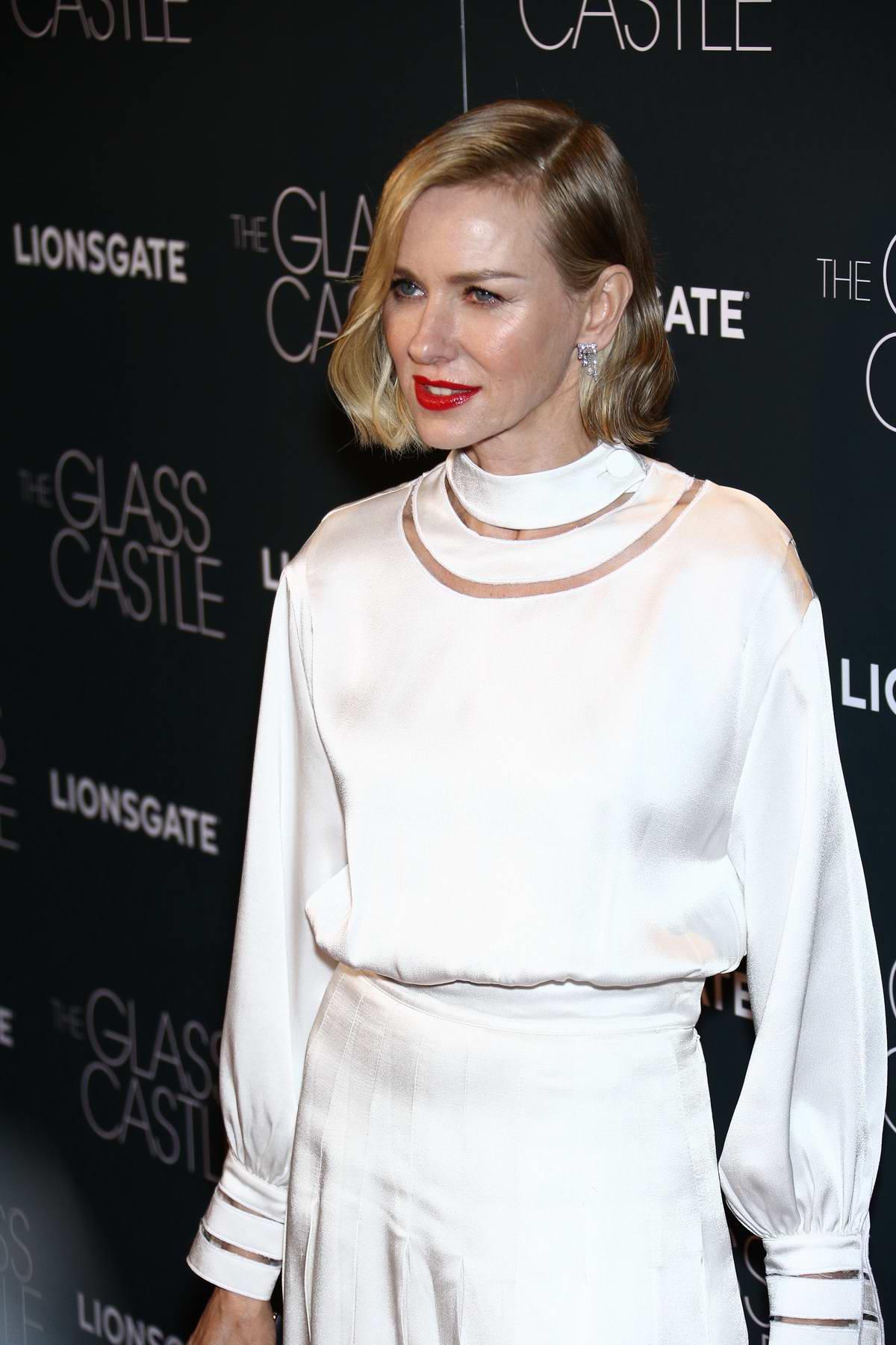 Naomi Watts the Glass Castle premiere in New York
