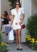 Nina Dobrev leaves InStyle's Day of Indulgence party in Brentwood, Los Angeles
