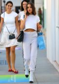 Olivia Culpo enjoys shopping in Beverly Hills, Los Angeles