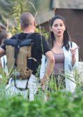 Olivia Munn films second season of 'Six' on a farm outside of Vancouver, Canada