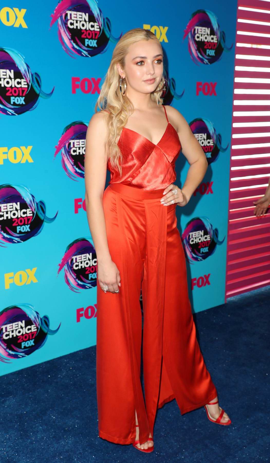 Peyton Roi List at Teen Choice Awards 2017 at Galen Center in Los Angeles