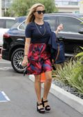 Reese Witherspoon heading to a studio in Santa Monica, California
