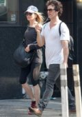 Renee Zellweger and boyfriend Doyle Bramhall II are spotted out and about in New York City