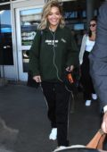 Rita Ora spotted arriving at LAX Airport in Los Angeles