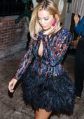 Rita Ora spotted leaving Delilah's Night Club in West Hollywood
