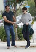 Rooney Mara arriving at a meeting in Los Angeles