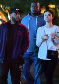 Selena Gomez and The Weeknd enjoy a Disney date night in Anaheim, California
