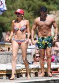 Stephanie Pratt in a bikini on holiday with Jonny Mitchell in Croatia