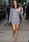 Adriana Lima at the Fenty PUMA by Rihanna in New York