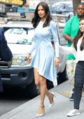 Adriana Lima seen leaving The Today Show in New York City