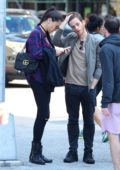 Adriana Lima with boyfriend Metin Hara seen walking around town in New York City
