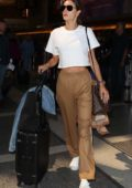 Alessandra Ambrosio spotted at LAX Airport in Los Angeles