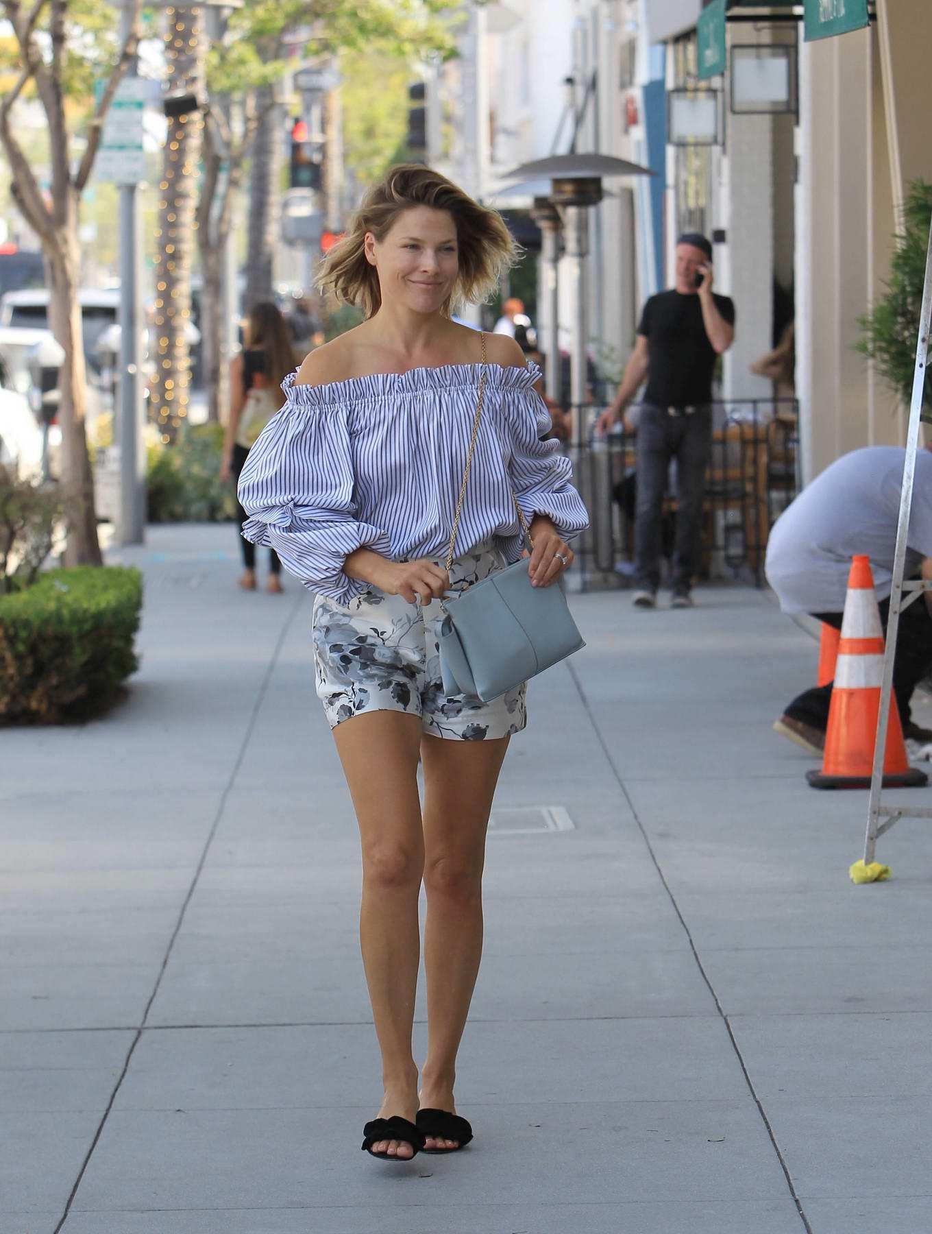 Ali Larter spotted running errands in Los Angeles
